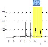 allele quantitation using pyrosequencing